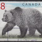 Canada 1997 - Scott 1694 used - $8, Grizzly Bear   (10-175)