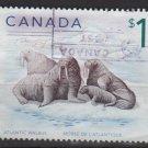 Canada  1997-2005  - scott  1689 used -  $1, Atlantic Walrus  (10-181)