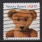 USA 2002 - Scott 3656 used - 37c,  Teddy bears, Ideal Bear(10-182)