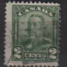 CANADA 1928 - Scott 150 used - 2c King George V   (10-192)