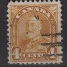 CANADA 1930  - Scott 168 used  - 4c, King George V  (10-198)