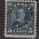 CANADA 1930  - Scott 170  used - 5c, King George V  (10-199)