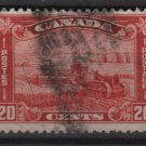 Canada 1930 - Scott 175 used - 20c, Harvesting Wheat   (10-200)