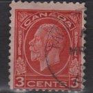 CANADA 1932 - Scott 197  used - 3c, King  George V  (10-207)
