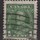 CANADA 1935 - Scott 217 used - 1c, King George V    (10-212)