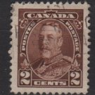 CANADA 1935  - Scott 218 used  - 2c,  King George V (10-215)