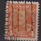 Canada 1935 - Scott 220 used - 4c, King George V (10-217)