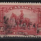 CANADA 1935 - Scott 223 used - 10c, Royal Canadian Mounted Police  (10-219)