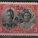 CANADA 1939 - Scott 248 used - King George VI & Queen Elizabeth   (10-237)