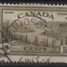 Canada 1946  - Scott 269 used - 10c, Great Bear Lake, Mackenzie (10-252)