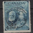 CANADA 1947 - Scott 274 used - 4c, Alexander Graham Bell  (10-254)