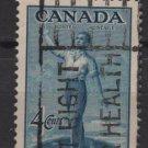CANADA 1947 - Scott 275 used  - 4c, Canadian Citizenship (10-256)