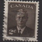 CANADA 1950 - Scott 290 used  -  2c, King George VI (10-276)