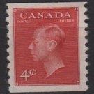Canada 1949 - Scott 287 MH - 4c, George VI  (10-335)