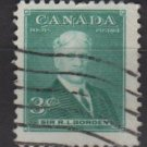 CANADA 1951 - Scott 303 used - 3c, Sir Robert Laird Borden (10-288)