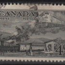 CANADA 1951 - Scott 311 used - 4c,  British North American Postal Administration Cent.(10-301)