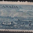 CANADA 1951 - Scott 313 used - 7c,  British North American Postal Administration Cent.(10-303)