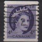 CANADA 1954 - Scott 347 coil used - 2c Queen Elizabeth II  (10-348)