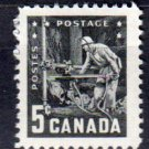 CANADA 1957 - Scott 373 MH - 5c, Mining Industry   (10-373)