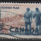 CANADA 1961 - Scott 394 used -  5c,  Colombo Plan(10-407)