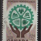 CANADA 1961  - Scott  395used - 5c,  Natural Resources (10-409)