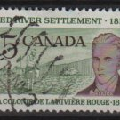 CANADA 1962 - Scott 397 used - 5c, Scottish Settler (10-413)