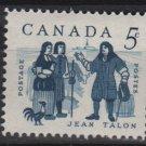 CANADA 1962 - Scott 398 MH - 5c, Jean Talon (10-415)