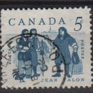 CANADA 1962 - Scott 398 used - 5c, Jean Talon (10-416)