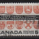 CANADA 1962 - Scott 400 used - Trans-Canada Highway  (10-420)