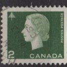 CANADA 1962 - Scott 402 used - 2c Queen Elizabeth II  (10-422)