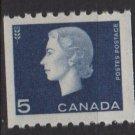CANADA 1962 - Scott 409 COIL MH  - 5c Queen Elizabeth II (10-432)