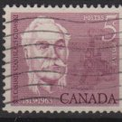 CANADA 1963 - Scott 410 used - 5c, Casimir Gzowski   (10-434)