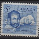 CANADA 1963 - Scott 412 used - 5c, Sir Martin Frobisher (10-436)