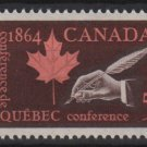 CANADA 1964 - Scott 432 MH - 5c, Quebec Conference(10-477)