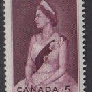 CANADA 1964 - Scott 433 MH - 5c, Elizabeth II   (10-480)