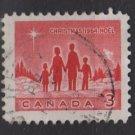 CANADA 1964 - scott 434 used - 3c, Christmas   (10-481)