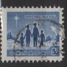 CANADA 1964 - scott 435 used - 5c, Christmas   (10-484)