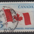 CANADA 1965 - Scott 439 used - 5c, Maple leaf flag  (10-490)