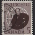CANADA 1965 - Scott 440 used - 5c, Winston Churchill   (10-491*)