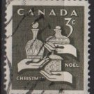 CANADA 1965 - Scott 443 used - 3c, Christmas  (10-493)