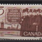 CANADA 1966 - Scott 448 used - 5c, London Conference (10-503)