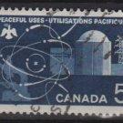CANADA 1966 - Scott 449 - used - 5c, Atomic reactor (10-505)