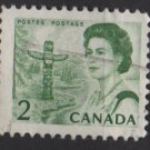 CANADA 1967 - Scott 455 used - 2c Queen Elizabeth II     (10-516)