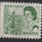CANADA 1967 - Scott 455 used - 2c Queen Elizabeth II     (10-516)