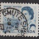 CANADA 1967 - Scott 458 used - 5c Queen Elizabeth II  (10-521)