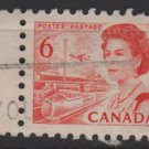 CANADA 1967 - Scott 459 used - 6c Queen Elizabeth II  (10-523)