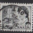 CANADA 1967 - Scott 460 used - 6c Queen Elizabeth II  (10-524)