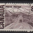 CANADA 1967  - Scott 461 used -  8c, Alaska Highway (10-527)