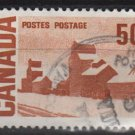 CANADA 1967 - Scott 465A  used  - 50c, Summer's stores (10-536)