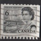 CANADA 1967 - Scott 468B used - 6c Queen Elizabeth II (10-541)